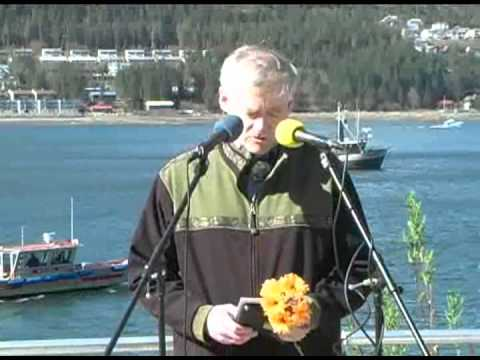 Lt.Governor Mead Treadwell at Juneau's Blessing of the Fleet