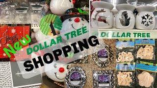 NEW at Dollar Tree November 8 2018 New finds Dollar Tree Shopping Christmas 2018 Christmas decor