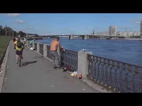 ловля судака у володарского моста