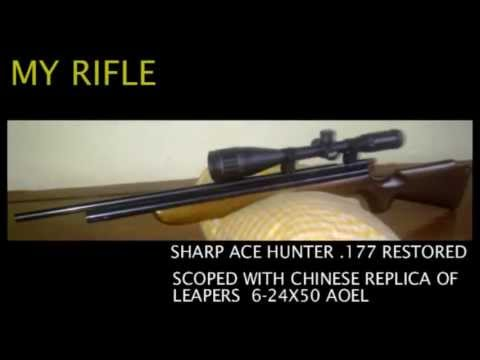 Senapan Angin Sharp Ace Hunter vs Sharp Ace Hunter 177