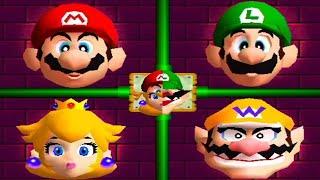Mario Party 2 - All Minigames
