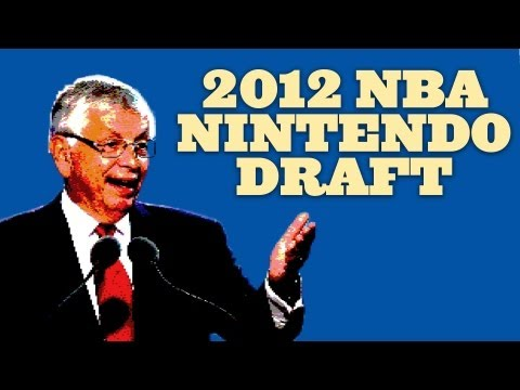 2012 NBA Draft: Nintendo Edition