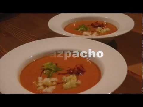 Receta de Gazpacho Andaluz Auténtico - Receta Tradicional Andaluza