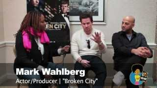 Broken City Interview with Mark Wahlberg & Allen Hughes | Reelblack TV