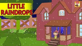 THE LITTLE RAINDROPS Poem ♫ Nursery Rhyme ♫ Popular Rhymes For Kids