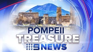 Archaeologists find incredible artifact buried at ancient city   Nine News Australia