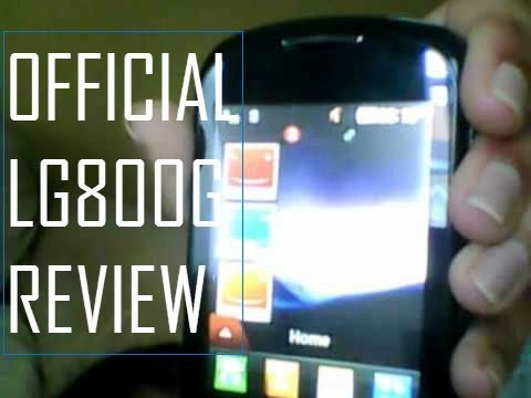 LG800G Official Review and Cool Features!