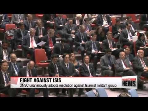 UN unanimously adopts resolution urging action against ISIS   유엔안보리 ′IS 척결′ 결의안