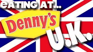 EATING AT - DENNY'S DINER - UNITED KINGDOM
