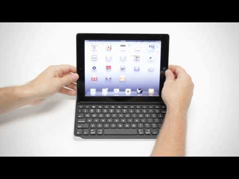 Logitech Keyboard Case by ZAGG for iPad2