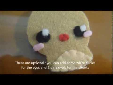 How to make Reindeer plush (tutorial)