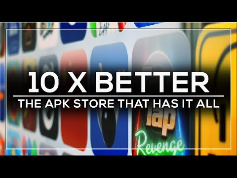 THIS APK STORE IS 10X BETTER THAN GOOGLE PLAY - ALL APPS INCLUDED!