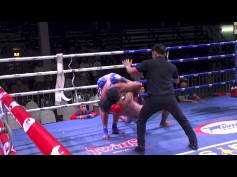 Jongsanan (Tiger Muay Thai) vs Jocho (Rawai Supa Muay Thai) @ Chalong Boxing Stadium 6/10/2015
