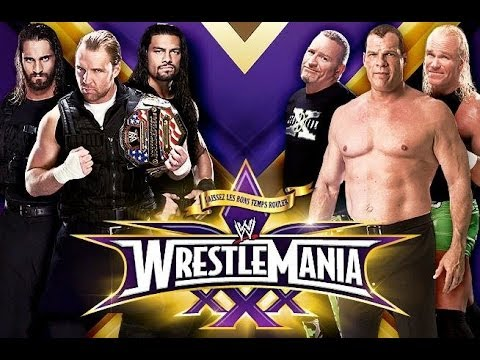 Wrestlemania Xxx Tale Of The Tape: The Shield Vs. Kane And The New Age Outlaws video