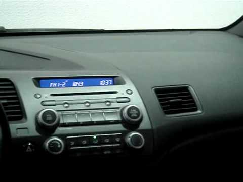 HONDA CIVIC 1 8 LXS SEDAN 16V FLEX 4P AUTOMÁTICO 2008 INTERIOR