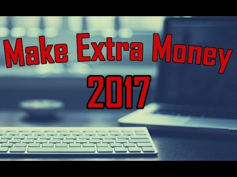 5 Side Jobs For Extra Money From Home - Make Extra Money 2017