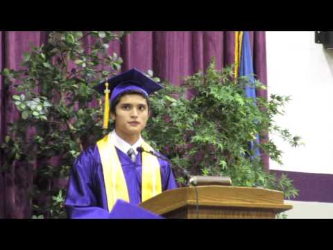 Angola High School Commencement 2015