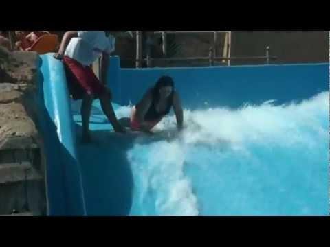 Śmieszny filmik - Wypadek w Aquaparku