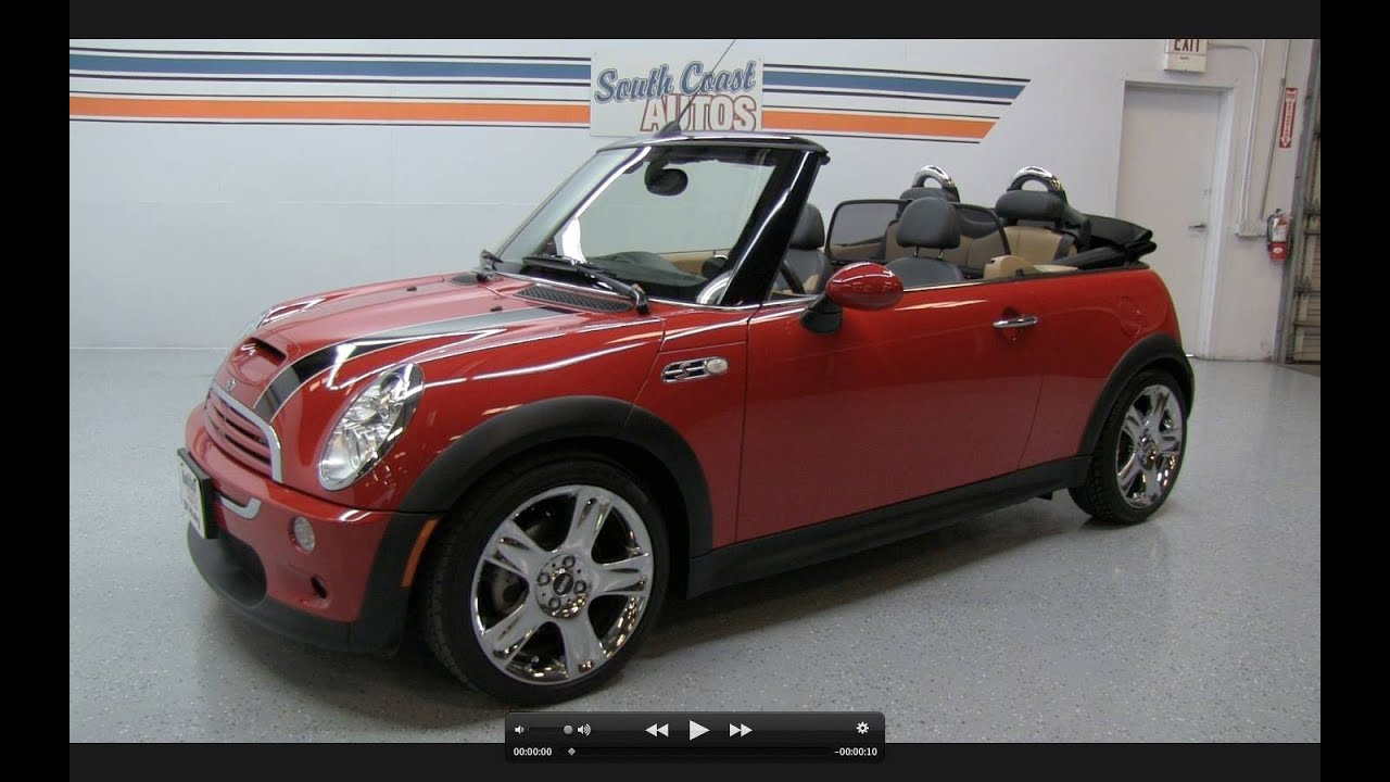 2006 mini cooper s convertible start up exhaust and in. Black Bedroom Furniture Sets. Home Design Ideas