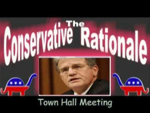 Tom Coburn Slams FOX News at Town Hall: KUDOS Senator!