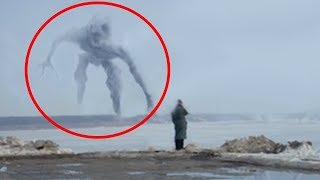 5 Giant Mysterious Creatures Caught On Camera