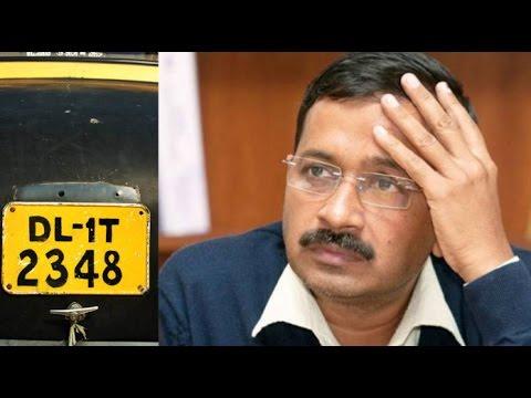 BJP Accuses Arvind Kejriwal of Rs 450 Crore Number Plate Scam