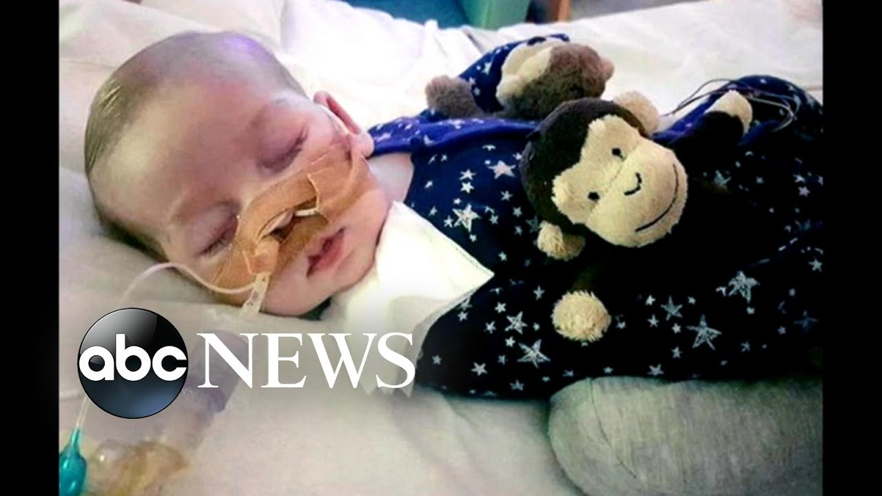 Charlie Gard, baby at center of end-of-life debate, has died