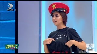 Bravo, ai stil! (21.09.2017) -Alina i-a luat prin surprindere pe jurati! Raluca: