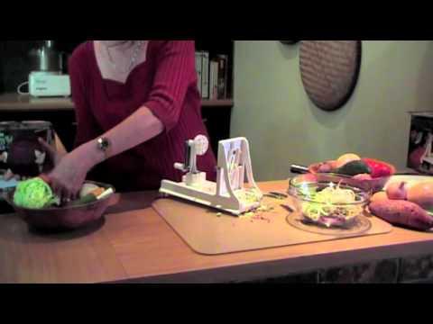 Healthmakers - Spyra-Gyra Spiral Slicer.mov