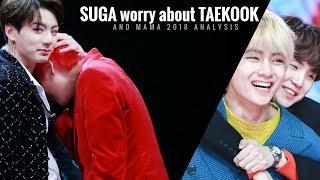 Suga preocupado com Taekook e análise MAMA2018 [VKOOK]