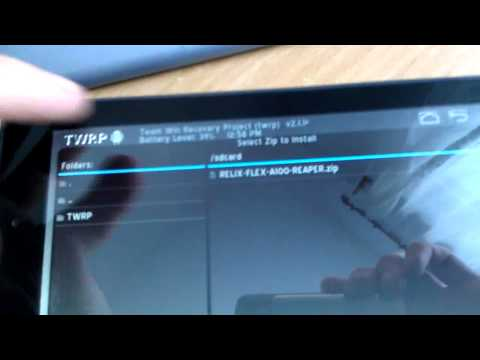 Acer Iconia Tab A100 unbrick