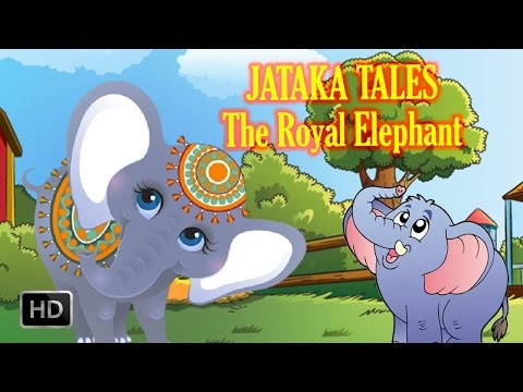 Jataka Tales - The Royal Elephant - Short Stories For Children - Animated   Cartoon Stories For Kids video