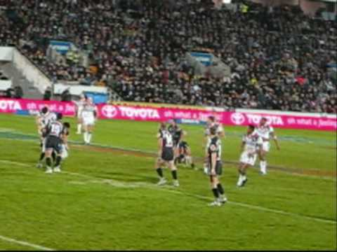 In September 2008, the Eastern Suburbs Roosters came across to Auckland to square off against the NZ Warriors at Mt Smart Stadium in the second round of fina...
