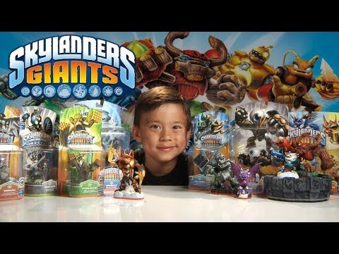 SKYLANDERS GIANTS TIME!!!  with EPIC Portal of Power Special Effects!!!