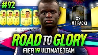 FIFA 19 ROAD TO GLORY #92 - 2 INFORMS IN A FUTMAS PACK!!