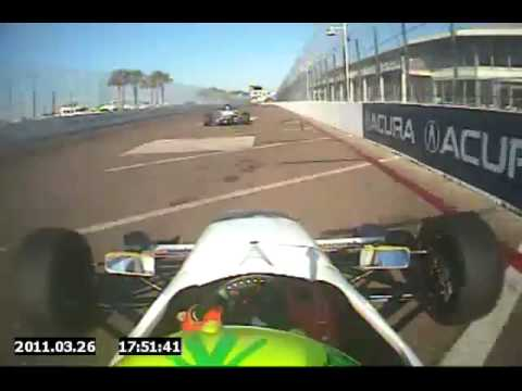 USF2000 driver Spencer Pigot wins at the Streets of St. Petersburg