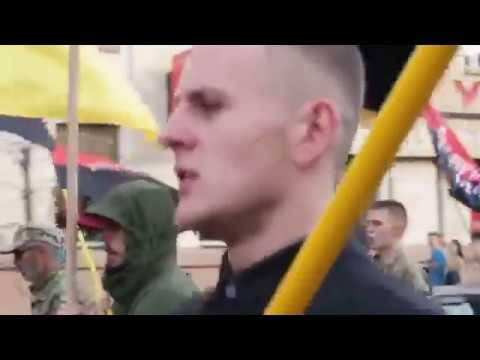 Российским оккупантам - Смерть! - Марш Доблести в честь защитников Украины прошел в Харькове.