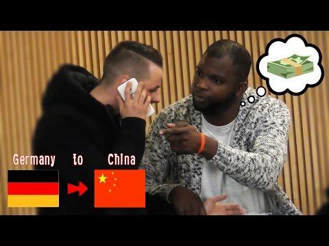 AUSLANDSTELEFONAT PRANK! (+ fast Schlägerei) | LWG TV