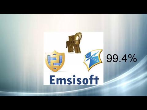 AVG vs Avira vs Emsisoft (Detection ratio test)