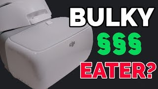DJI GOGGLES one EXPENSIVE DUST COLLECTOR?