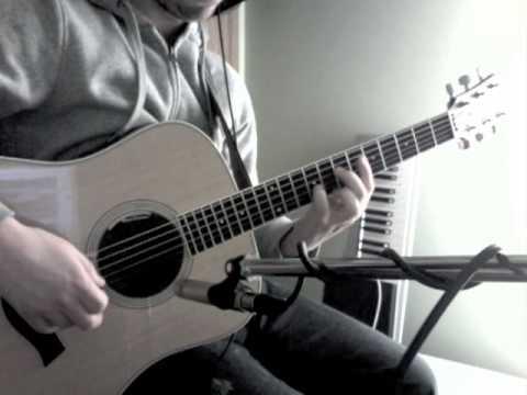 Taylor DN3 acoustic guitar sound test