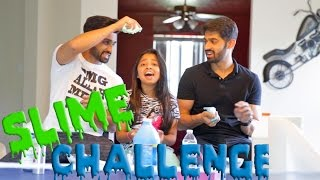 SLIME CHALLENGE! - DhoomBros (ShehryVlogs # 89)