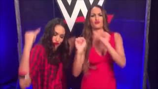 download lagu The Bella Twins Dancing To Mark Henry's Theme Song gratis