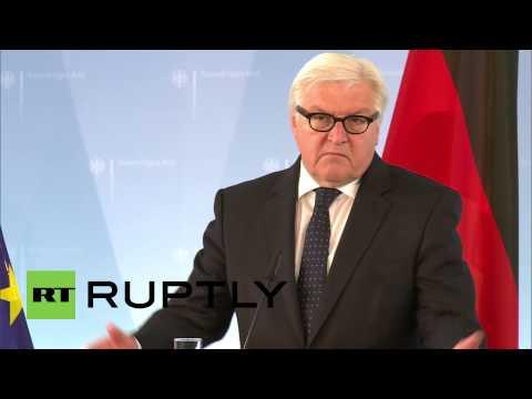 Germany: Steinmeier speaks to