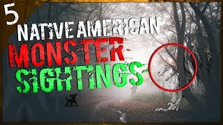 5 Unexplained Creatures Seen on Native American Land   Darkness Prevails