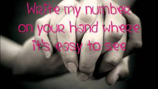 Watch Scotty Mccreery Write My Number On Your Hand video
