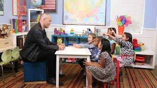 Vince Vaughn Talks to Kids