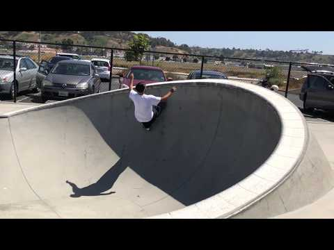 Ronnie Sandoval at Prince Skate Park.