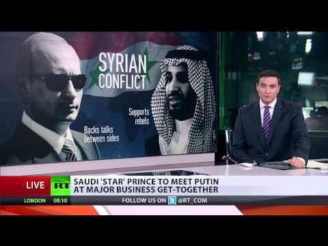 Saudi Prince seeking deals with Russia amid political disagreements