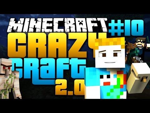 Minecraft: CRAZY CRAFT 2.0 - #10   SO CLOSE TO BIG BERTHA!